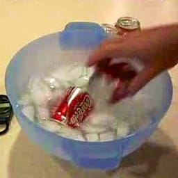 Chill a Coke in 2 Minutes