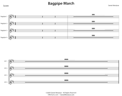 Bagpipe March by Daniel Menjívar