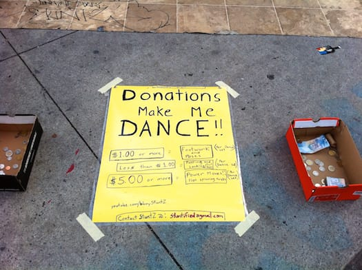 Donations Make Me Dance!!