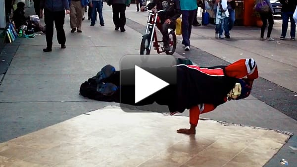 Eaton Centre Breakdancer