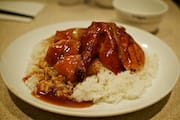 BBQ Duck on Rice