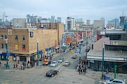 View of Dundas & Spadina