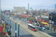View of Spadina/Chinatown