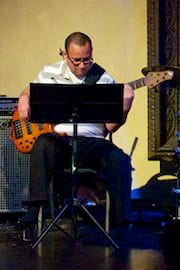 Daniel Menjívar on Bass