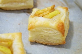 Apples & Cinnamon on Puff Pastry