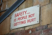 Safety… Is People Not Getting Hurt